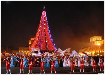 Exotic Armenia Tours - New Year 2018 in Armenia!